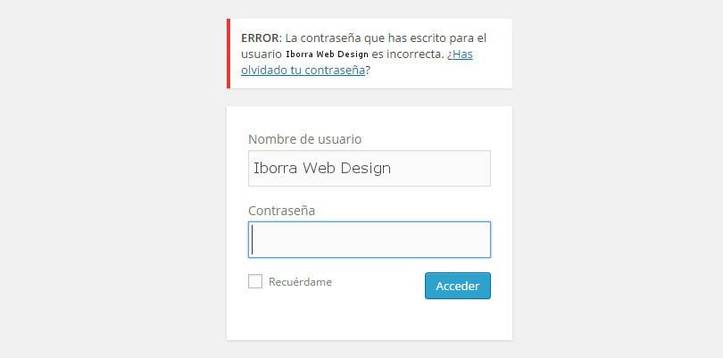 deshabilitar las sugerencias del login en wordpress img2 - iborra web design