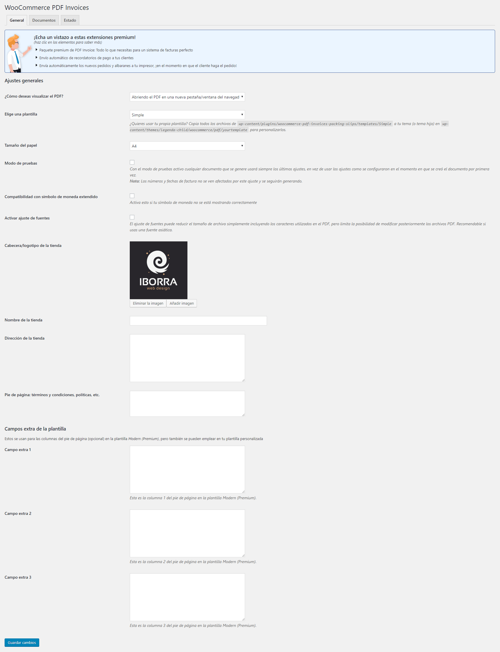 incluir dni y generar facturas pdf en woocommerce img4 - iborra web design