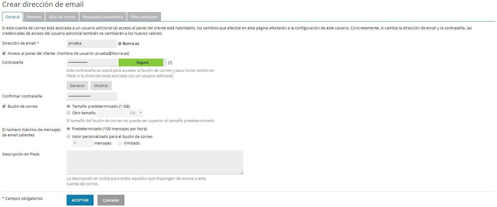 configura gmail con una cuenta de correo de tu dominio img1 - iborra web design