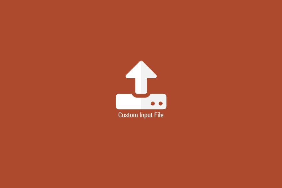 Cómo personalizar un botón input file