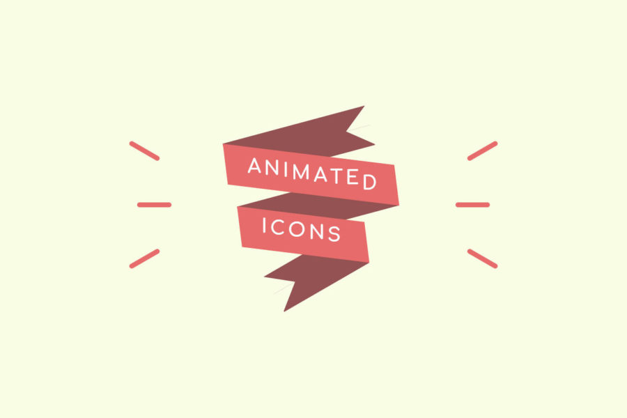 Iconos animados realizados con JavaScript