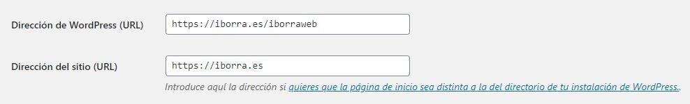 hacer funcionar wordpress en la raiz de tu sitio web img2 - iborra web design